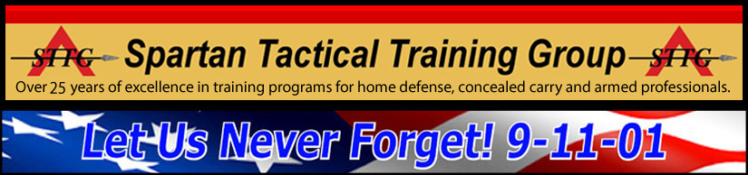 Spartan Tactical Training Group - Over 15 years of excellence in training services provided to law enforcement, military, armed professionals and civilians.