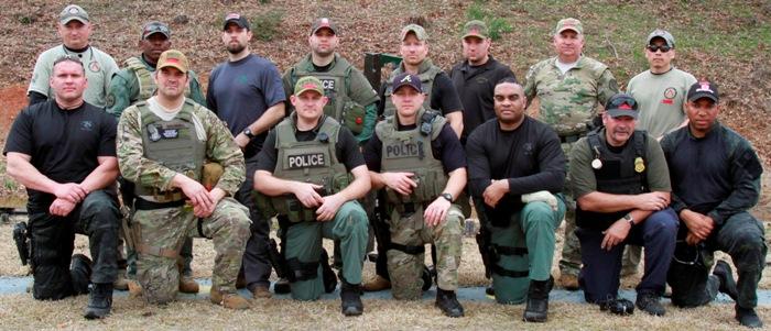 Team Tactics Handgun Operator Course - GTOA SWAT Conference - Macon, Georgia